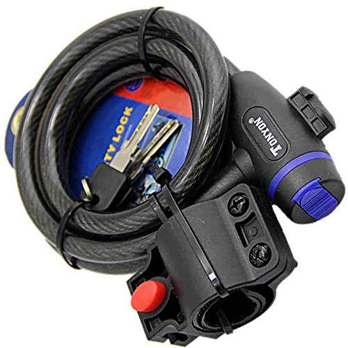 Cerradura de alambre de cadena de bicicleta - Cerradura de cable de...
