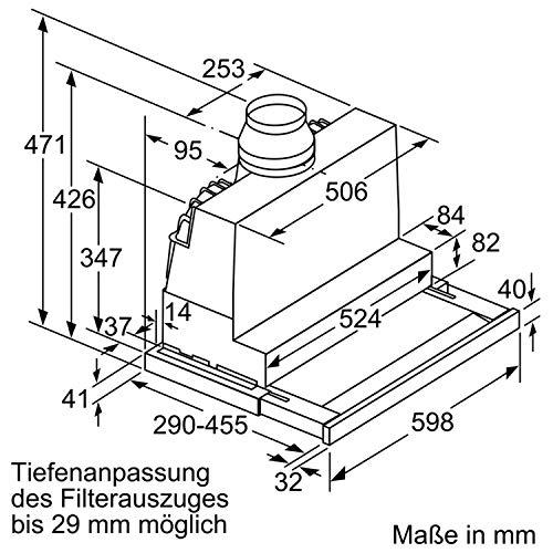 Bosch DFS067J50 Serie 8 Flachschirmhaube – Edelstahl - 5