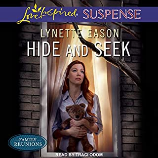 Hide and Seek     Family Reunions Series, Book 1              By:                                                                                                                                 Lynette Eason                               Narrated by:                                                                                                                                 Traci Odom                      Length: 5 hrs and 57 mins     1 rating     Overall 5.0