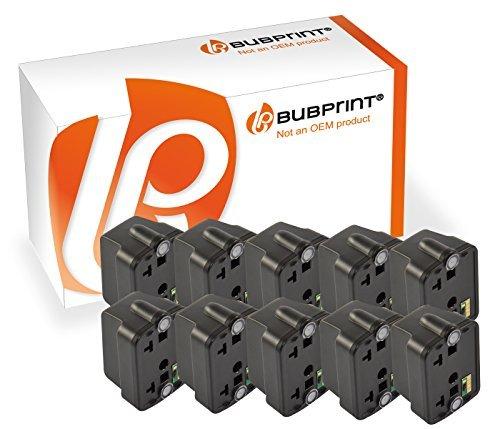 Bubprint 10 Druckerpatronen kompatibel für HP 363 HP363 für Photosmart 3110 3210 3310 8250 C5150 C5180 C6180 C6280 C7180 C7280 C8180 D6160 Schwarz