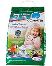 Cominter Animal Health Lecho Vegetal Papel Grey & Cloe 10L 4000 g