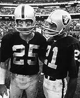 FRED BILETNIKOFF & Cliff Branch Oakland Raiders 8X10 Sports Action Photo