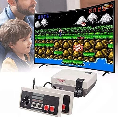 cyg Consola Retro, Consola De Juegos Clásica Consola De Juegos De 8 bits Juegos 620 FC Incorporados Consola De Videojuegos Plug and Play para Niños Adultos Mini Consola De Juegos