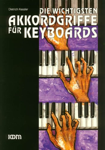 Die wichtigsten Akkordgriffe für Keyboards