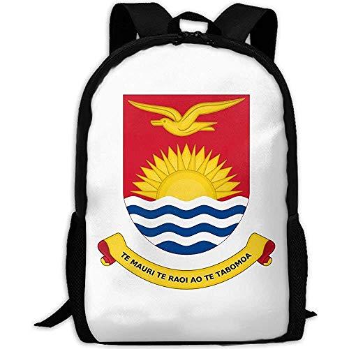 Rucksack,Flagge Von Kiribati Erwachsenen Reise Rucksack Schule Casual Daypack Oxford Outdoor Laptop Tasche College Computer Umhängetaschen