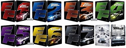 FAST & FURIOUS - La Saga 1-8 (Steelbook) (8 Blu-ray) (Ed. Italiana)