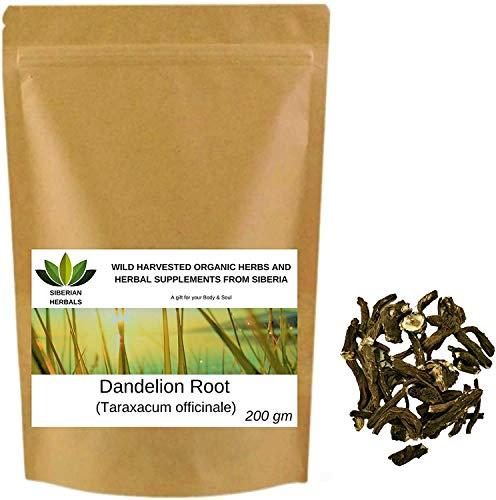 Dandelion Root (Taraxacum officinale) Wild Harvested Organic Одуванчик from Altai Mountains, Siberia, Russia. (200 gm)