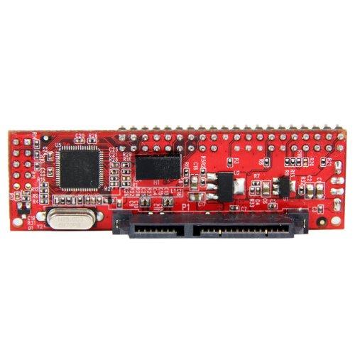 StarTech.com 40 Pin IDE PATA auf SATA Adapter für HDD / SSD / ODD, IDE zu 2,5 Zoll SATA / Optisches Laufwerk Konverter