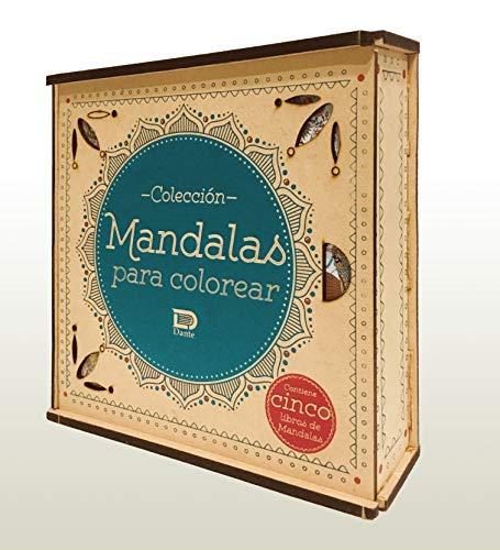 Colección Mandalas para Colorear. Cinco libros de Mandalas con estuche de lujo. [paperback] Texto: Equipo Editorial Dante [Jan 01, 2018] …