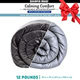 Calming Comfort Reversible Cooling Weighted Blanket by Sharper...