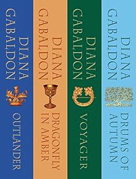 The Outlander Series Bundle  Books 1 2 3 and 4  Outlander Dragonfly in Amber Voyager Drums of Autumn  Outlander Bundle