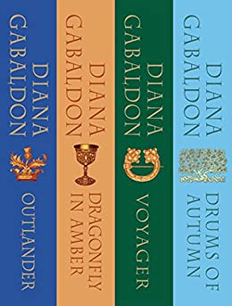 The Outlander Series Bundle: Books 1, 2, 3, and 4: Outlander, Dragonfly in Amber, Voyager, Drums of Autumn by [Diana Gabaldon]