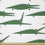 ABAKUHAUS Krokodil ausdehnbar mit Elestan für