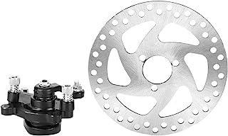 Bremsscheibe Roller, Aluminiumlegierung Mini Scooter Hinterrad Scheibenbremse Set Bremsscheibe + Bremssattel für Rotoren