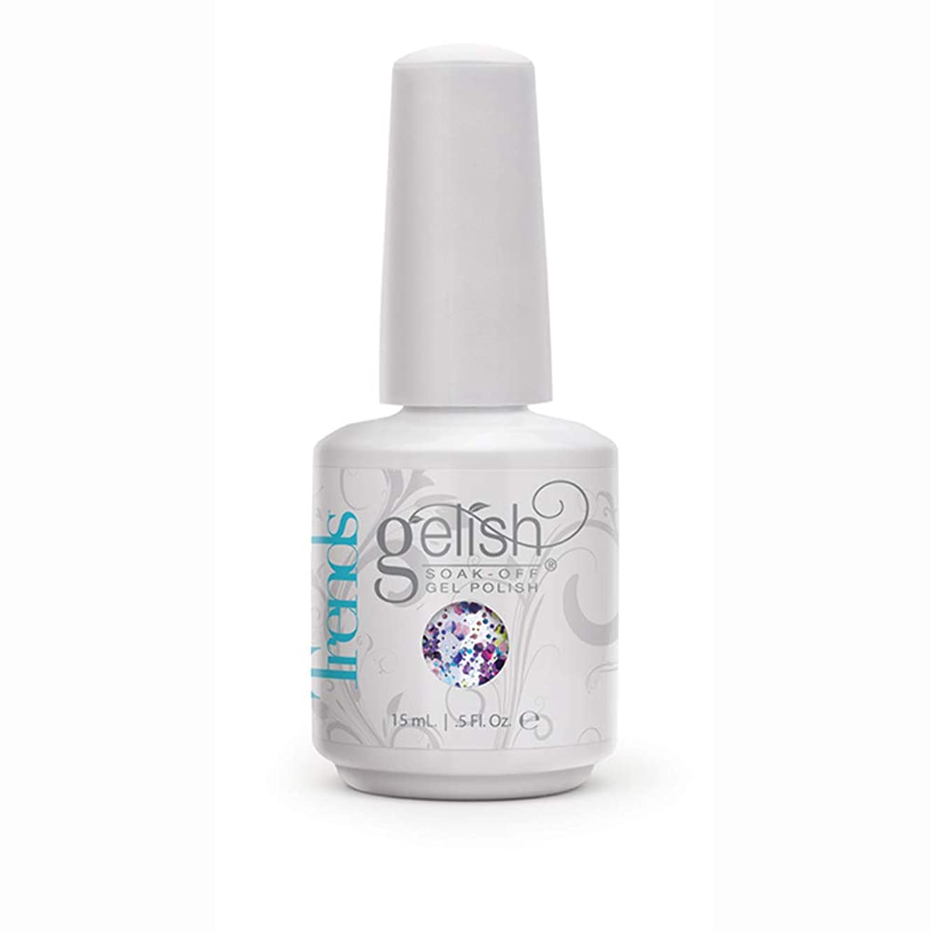パケット失望最初にHarmony Gelish Gel Polish - Looking Glass - 0.5oz / 15ml