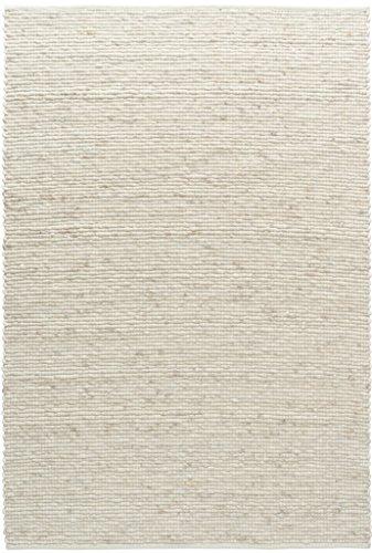 TISCA Teppich aus Schurwolle LIV Natur (Verschiedene Größen) 140 x 190 cm