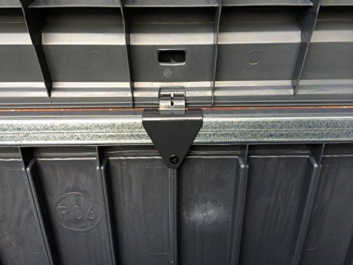 Keter Cabinet Mehrzwecktruhe Gartentruhe, 570L, 155×72,4×64,4cm - 5