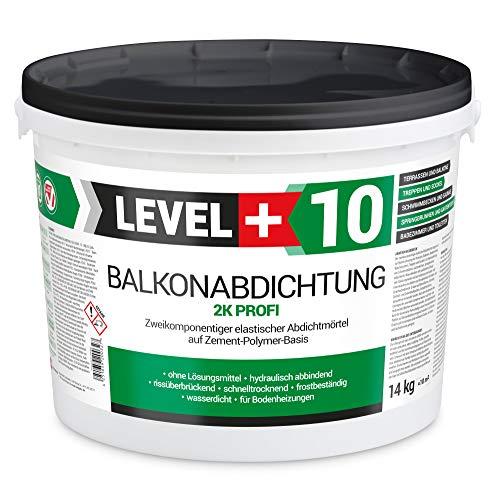 14 kg, Balkonabdichtung 2K, Terrasse, Balkone, Keller, Dusche, Bad, Schwimmbäd, Dichtschlämme, Abdichtung RM10