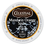 Celestial Seasonings Mandarin Orange Spice, Single Serve Tea K-Cups, 48-Count For Brewers