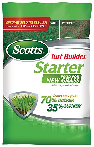 Scotts 21605 Lawn Food for New Grass, 5,000-sq ft (Not Sold in Pinellas County, FL) 5M Turf Builder...