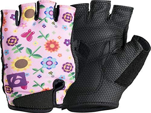 Bontrager Kids Kinder Fahrrad Handschuhe kurz pink 2021: Größe: L/XL (7-10 Jahre)