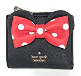 kate spade new york x minnie mouse Adalyn Small Wallet, Black