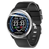Vicsainteck Smartwatch, Fitness Armband Sportuhr Smart Watch Mit Pulsmesser Schlafmonitor...