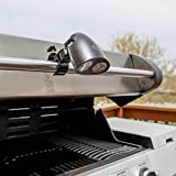 Essentials 2017 BBQ LED Grill Light - Metal Clamp - Super Bright - Easy to Install Adjustable Swivel Handle Mount -Extend Your BBQ Hours and Season - Best Guarantee