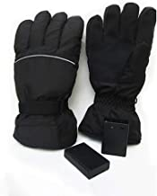 Ranoff 4.5V Adjustable Temperature Polyester Motorcycle Gloves Warm & Safe (First Gear)