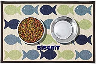 DIBSIES Personalization Station Tapestry Pet Food Mat