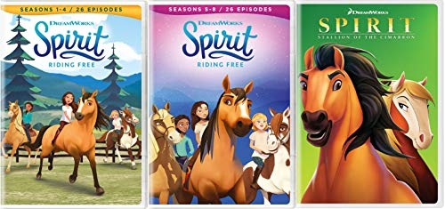 Spirit Riding Free Ultimate Collection Seasons 1-8 + movie