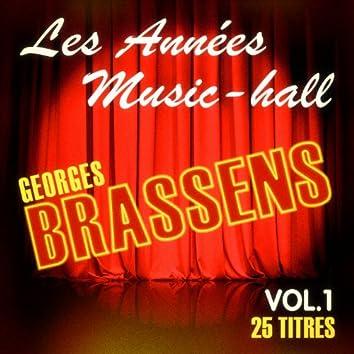 Les années music-hall: Georges Brassens, Vol. 1
