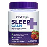 Natrol Sleep+ Calm, Melatonin and L-Theanine,...