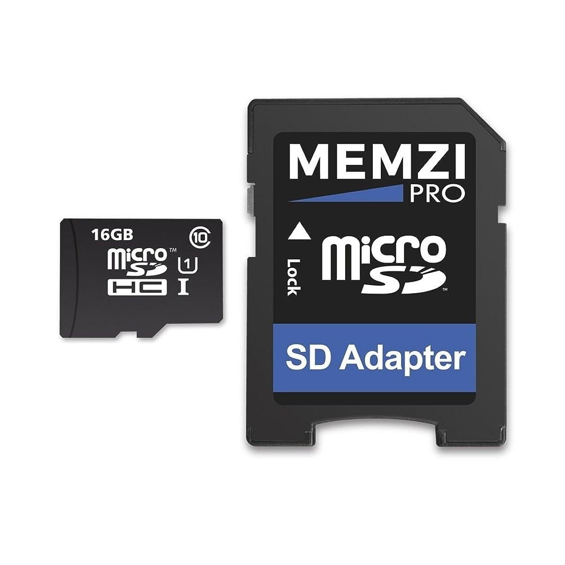 放出絶壁ハイライトMEMZI PRO 16GB 90MB/s Class 10 Micro SDHC メモリーカード SDアダプター付き クロスツアー CR900 CR750 CR700 CR600 CR500 CR350 CR300 CR100ダッシュカム用