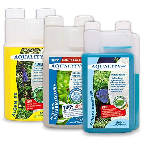 AQUALITY Aquaristik & Gartenteich -  AQUALITY 3er