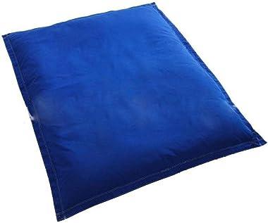 Sac de Haricots Piscine Sofa Paresseux Pas de Remplissage-Bleu (Pas de Remplissage)_140cm x 180cm