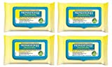 Preparation H (48 Count) Flushable Medicated Hemorrhoid Wipes, Maximum Strength Relief with Witch Hazel and Aloe, Pouch (4 Packs)