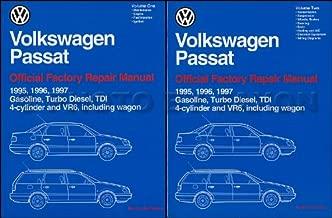 1995-1997 VW Passat Repair Shop Manual 2 Volume Set