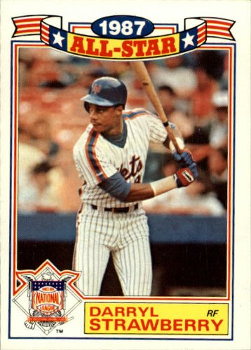 1988 Topps Glossy All-Stars Singles (Pick Your Cards) #19 Darryl Strawberry
