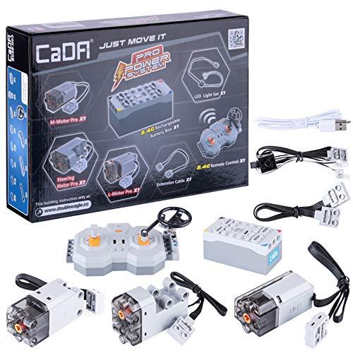Amitas CADA S059 - Kit de alimentación para tecnología CADA, mando a distancia, motor y luz para tecnología MOC