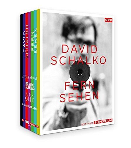 David Schalko: FERN SEHEN Box-Set [9 DVDs] [Aufschneider, Braunschlag, Altes Geld, Höhenstrasse]