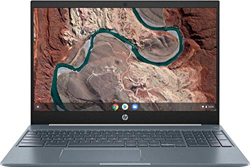 New 2020 HP Chromebook 15.6 Full HD IPS WLED-Backlit Touchscreen Intel Core i5-8250U 8GB SDRAM 128GB eMMC Backlit Keyboard Intel UHD Graphics 620 - Ceramic White, Cloud Blue Aluminum