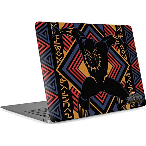 Skinit Decal Laptop Skin for MacBook Air 13in Retina (2018-2019) - Officially Licensed Marvel/Disney Black Panther Tribal Print Design