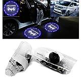 Ltsplay カーテシライト ドアウェルカムライト カーテシランプ LEDロゴ投影 30系トヨタ ヴェルファイア20系 カーテシ 角度調整機能付き 2個セット車用ドアランプ for Vellfire Blue