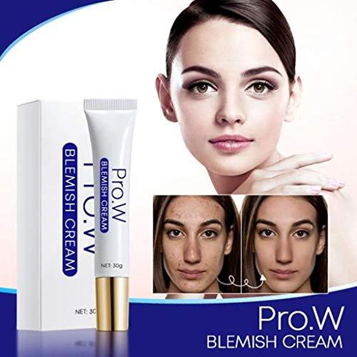 Blemish Cream, Best Blemish Remover & Anti Acne Spot Treatment Cream for Dark Spots, Hyaluronic Acid, Niacinamide Moisturing Lightening Cream