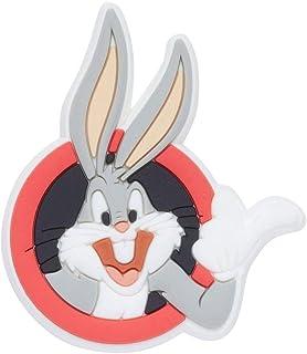 Crocs Unisex's Looney Tunes Bugs Bunny Shoe Decoration Charms, Multicolour (Multicolour), One Size