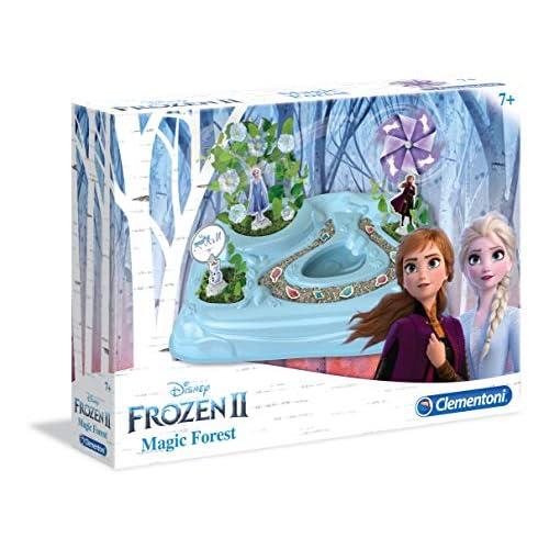 Clementoni- Frozen 2-The Magic Forest Gioco Scientifico, Multicolore, 18522