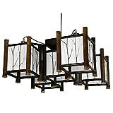 Oriental Furniture Watashi Japanese Hanging Lantern