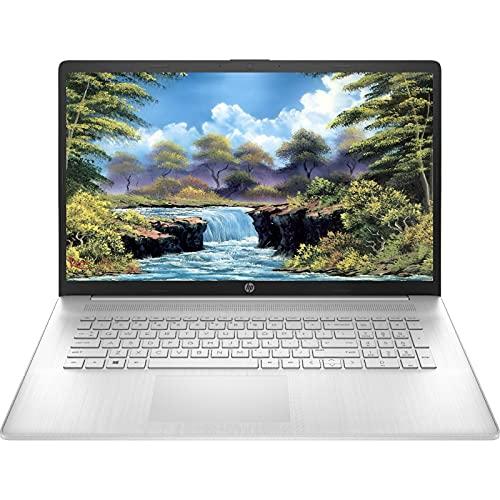 "2021 Newest HP 17"" Laptop, 17.3"" HD+ Non-Touch Display, 11th Gen Intel Core i3-1115G4 Processor, 16GB DDR4 Memory, 1TB HDD, HDMI, Wi-Fi, Bluetooth, Windows 10 Home, Silver"