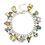 Alice in Wonderland Peter Pan Dumb Tinke Bell Winni Pooh Stitch Nightmare Before Christmas Bracelet Gifts for Women girl